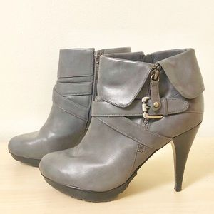 Guess Grey Ankle Boots